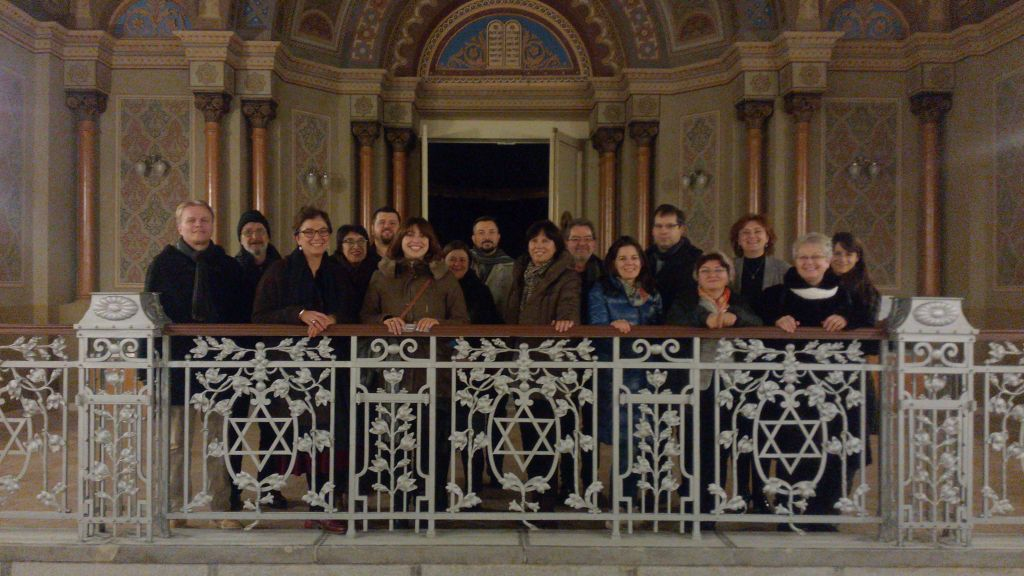 The NALIS team visited Oradea, Romania (13-17 Dec, 2016), in connection with the 'Sustainable protection and promotion of Art Nouveau heritage in the Danube Region' project, starting 1 Jan 2017.